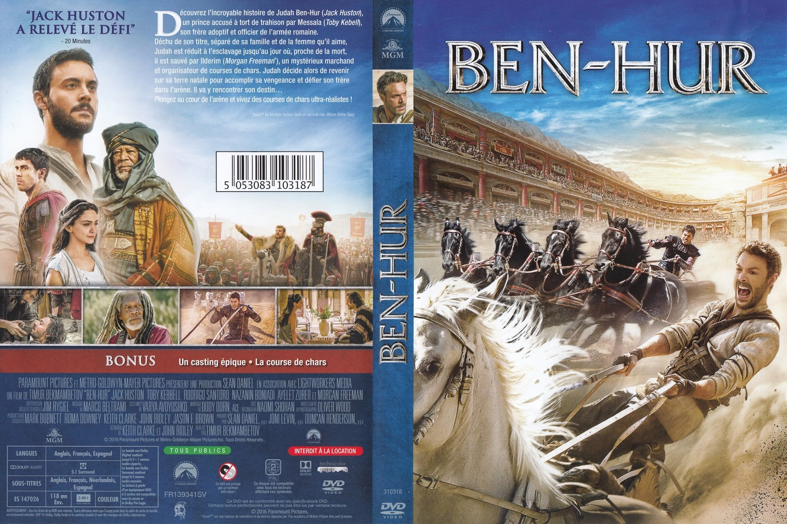 ben hur christian personals Ben-hur won 11 academy awards including best picture after its release in 1959 william wyler directed this mammoth production.