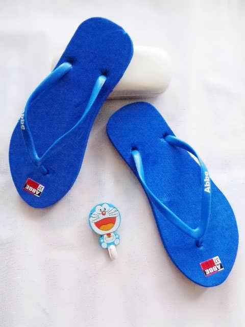 Pabrik Sandal Polos Bogor | AB Cewe Polos Warna