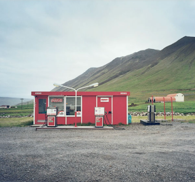 Essence et stations-services en Islande