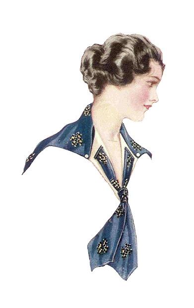 Antique Free Fashion Clip Art 2 Vintage Women'