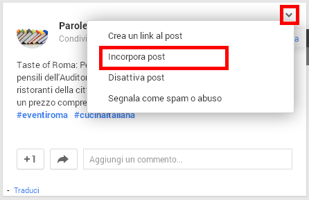 Come fare blog: Come incorporare i post di Google+ in un blog su Blogger o Wordpress