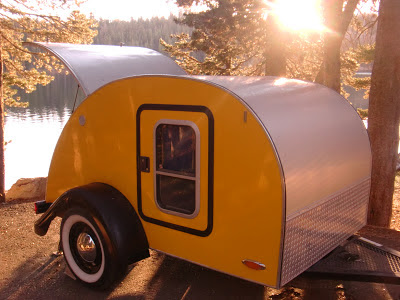 Pleasant Valley Teardrop Trailers >> Tiny Yellow Teardrop: Introducing the Sunflower and a Little Teardrop History