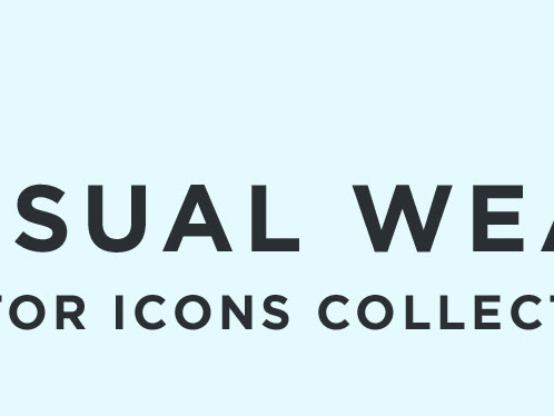 Download Casual Wear Vector Icons Free