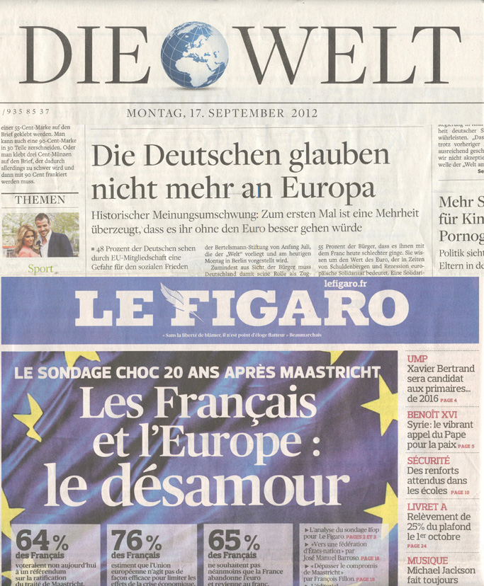 Open Europe Do The Germans And French Still Believe In Europe