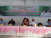 Kemenag Tapsel Buka Kegiatan TC Qari dan Qariah Tapanuli Selatan