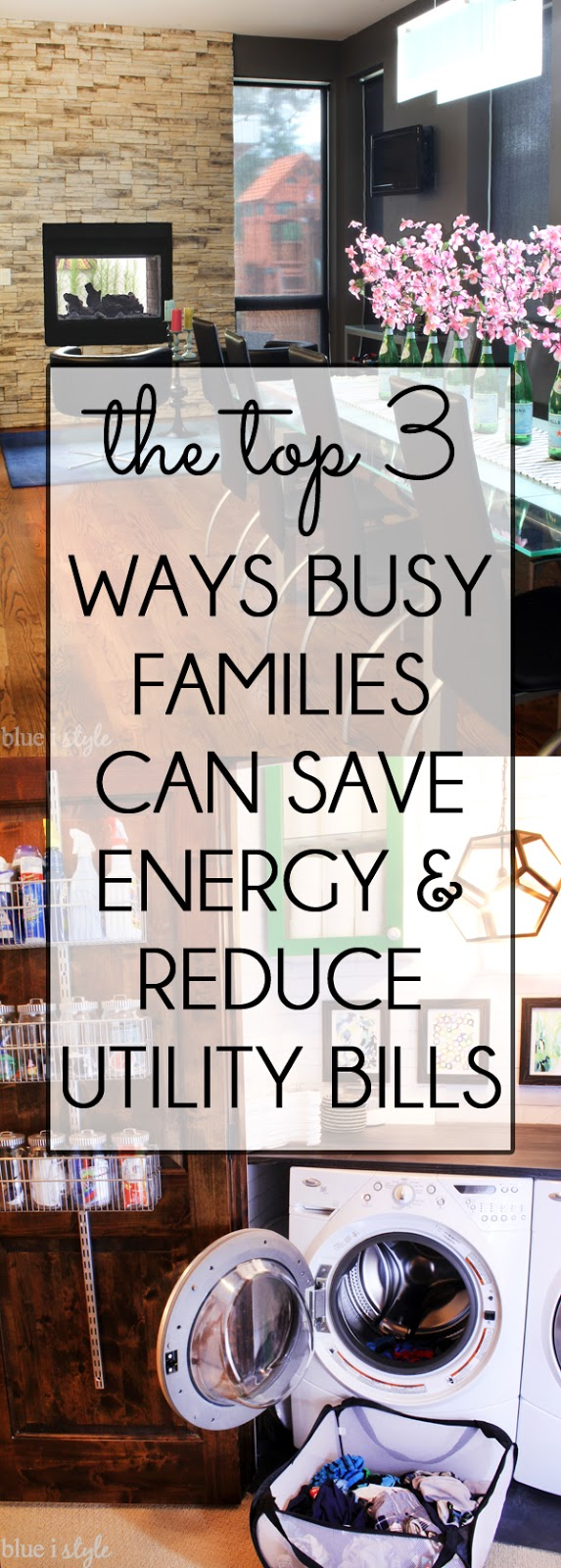 Diy with style my top 3 energy saving tips a huge for Ways you can save energy