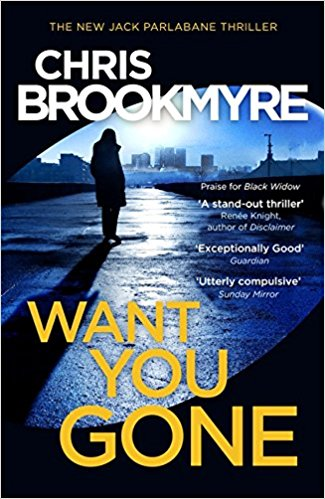 cover of Chris Brookmyre's novel Want You Gone