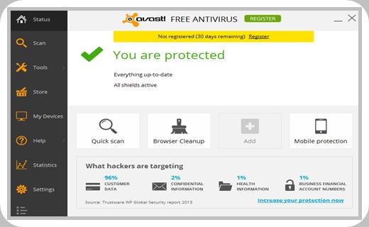 Avast Antivirus Premier full version life time License