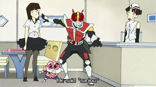 Crayon Shin-Chan: Den-O vs. Shin-O