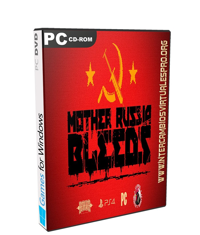 Mother Russia Bleeds poster box cover
