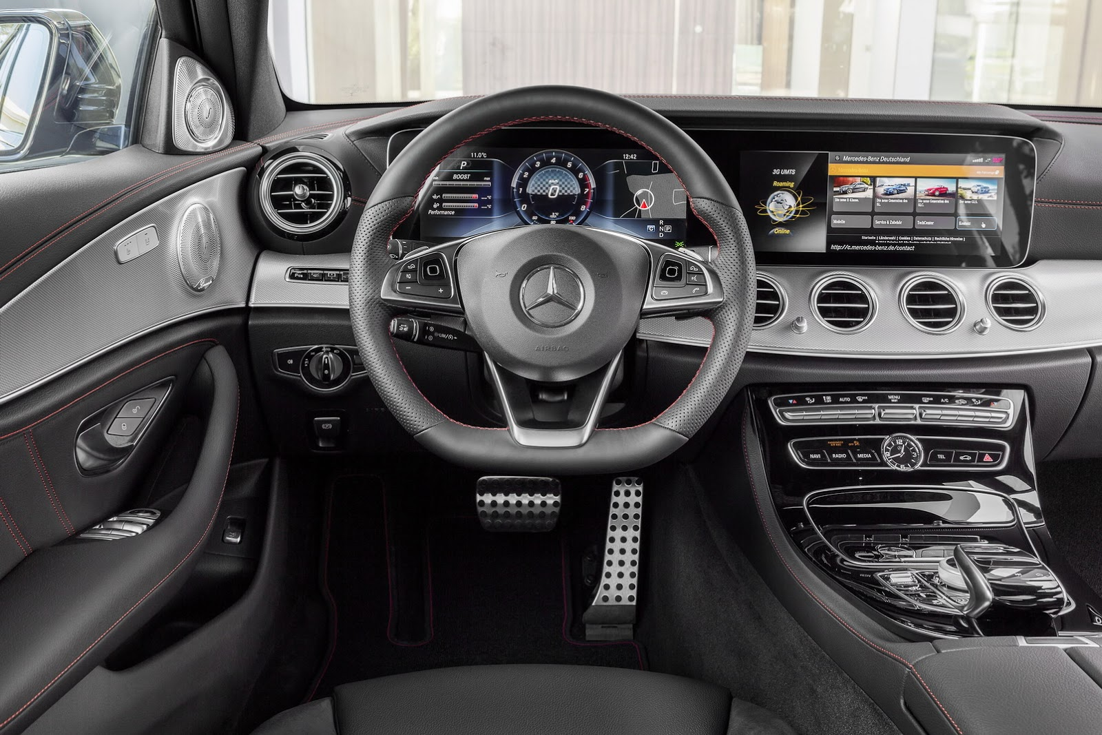 New 2017 Mercedes-AMG E43 Sedan Brings A 396HP Bi-Turbo V6 And Stealthy Looks