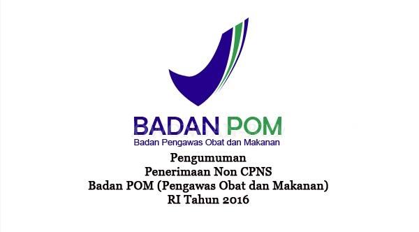 BADAN BPOM : ADMINISTRASI KEUANGAN DAN IT - BUMN, INDONESIA