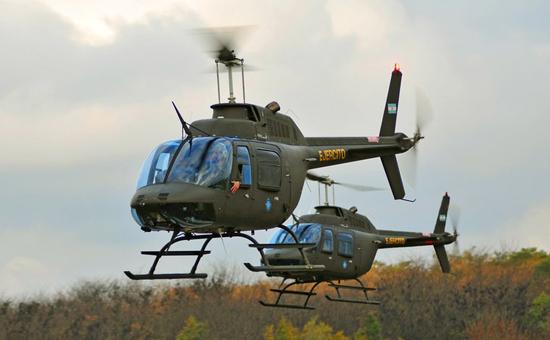 Resultado de imagen para 20 helicópteros Agusta (Bell) AB 206 argentina