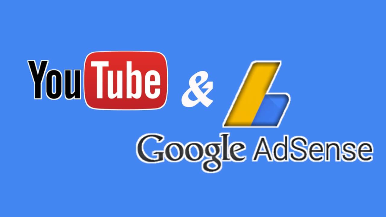 Keterkaitan antara channel youtube dan AdSense