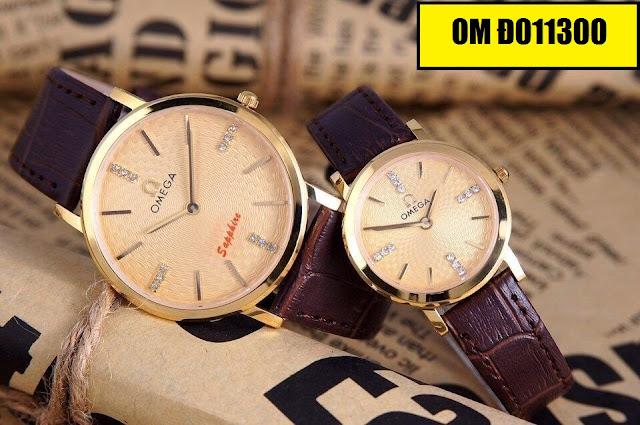 Đồng hồ dây da Omega D011300