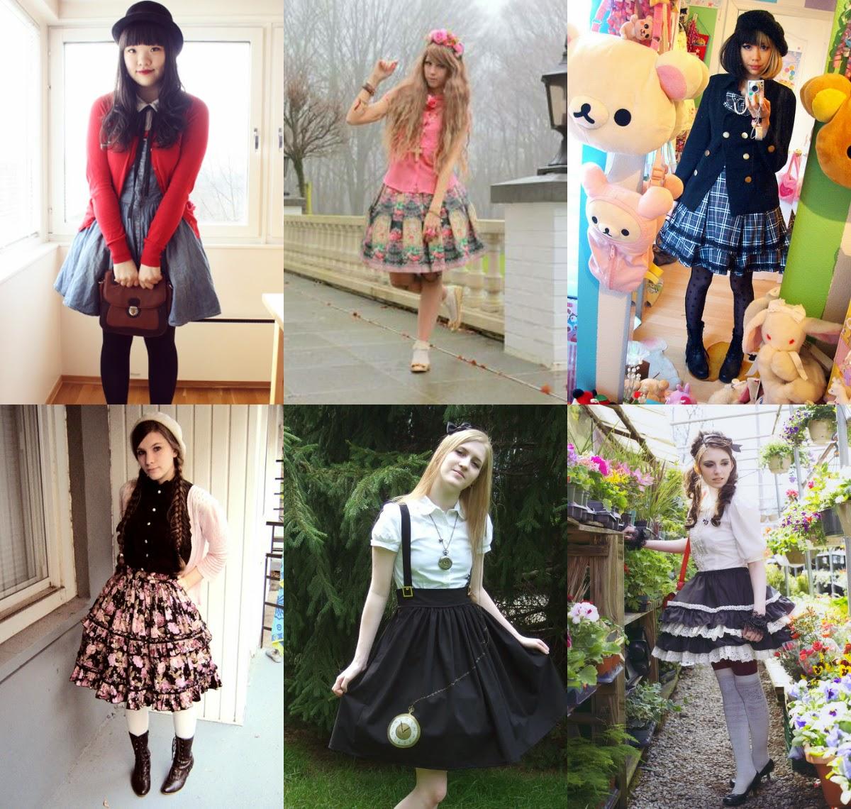 4fb489dc Varias Casual Lolita inspiradas en varios estilos (Click para ampliar)