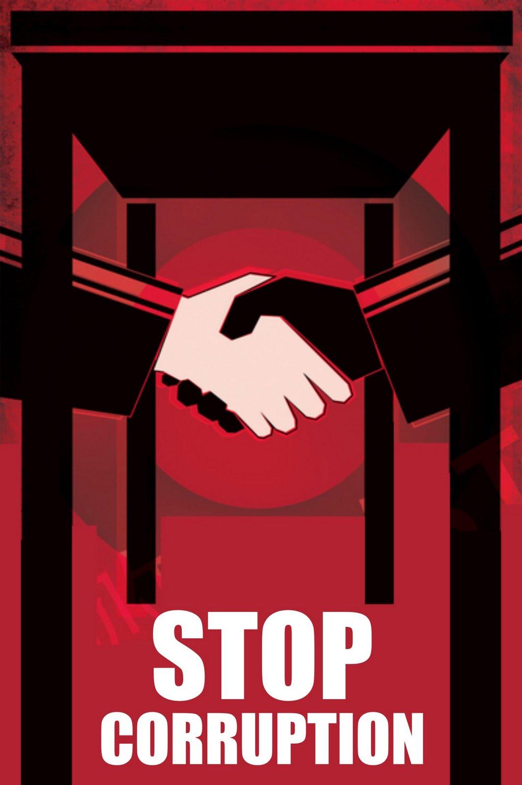Corruption Poster: Stop Corruption