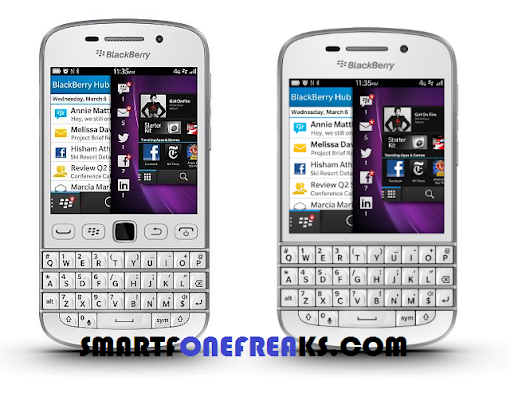Difference Between BlackBerry Q20 and BlackBerry Q10.