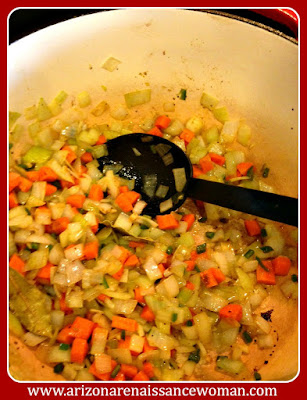 Vegetables for Pulled Lamb Shank Tacos with Pineapple-Tomatillo Salsa