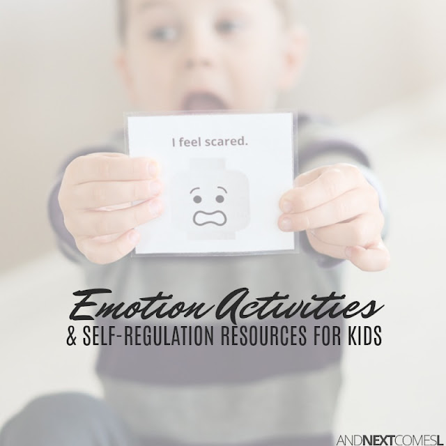 Activities and ideas for how to teach kids about emotions and self-regulation