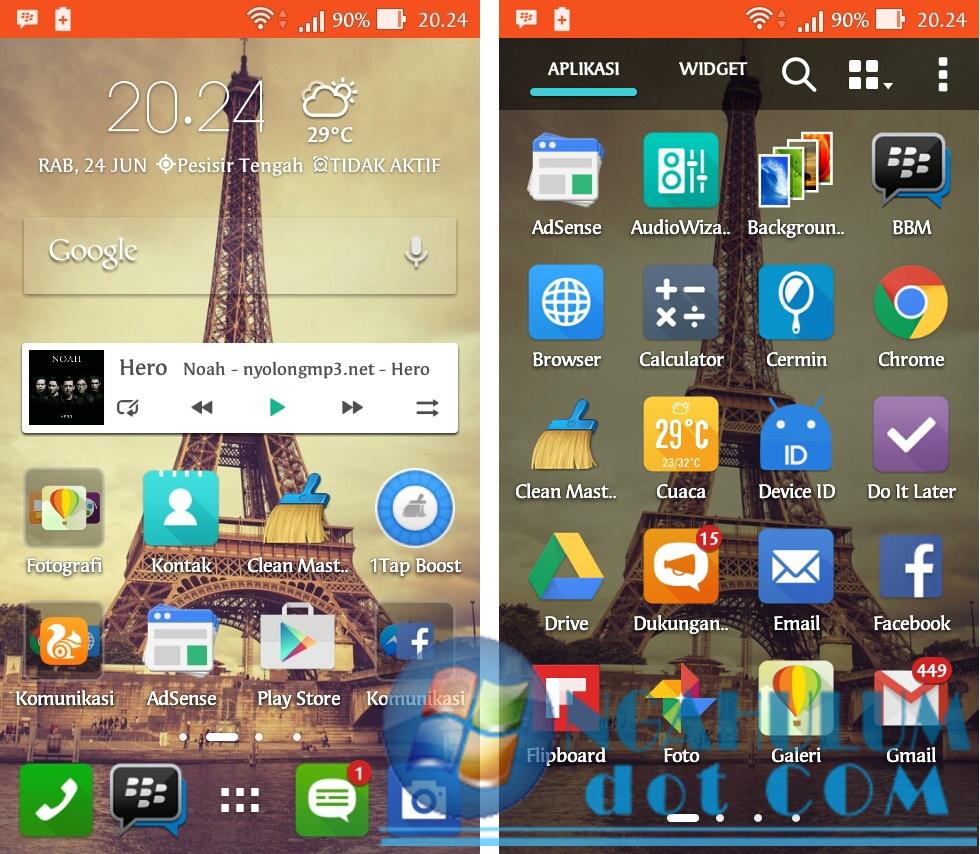 Cara Update Zenfone 4s T00Q ke Lollipop