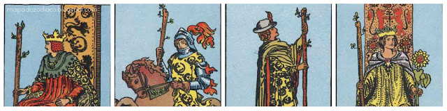 aparencia fisica cartas tarot bastoes