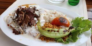 My choice - beef iskander kebab