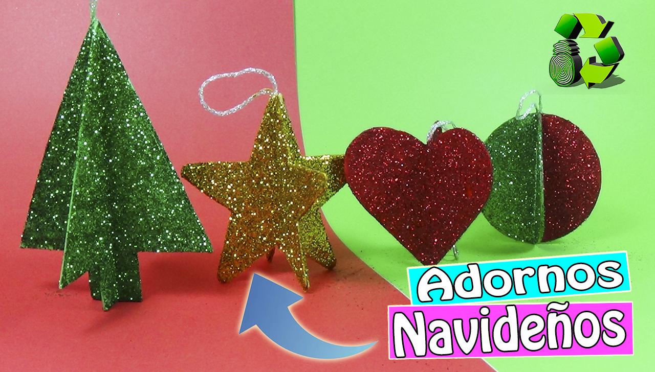 Ecobrisa manualidades 5 ideas para hacer en navidad con for Decoraciones de navidad para hacer en casa