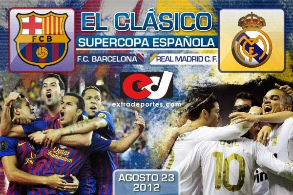 Barcelona vs Real Madrid Supercopa 2012 (4)