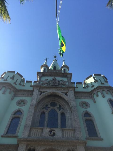 Ilha Fiscal - Brazão no Castelo