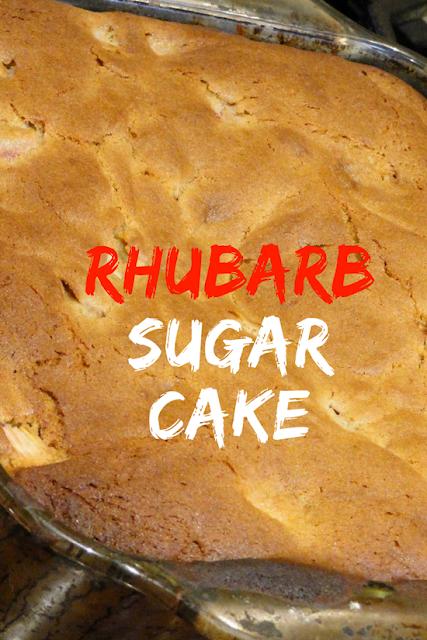 Rhubarb Sugar Cake