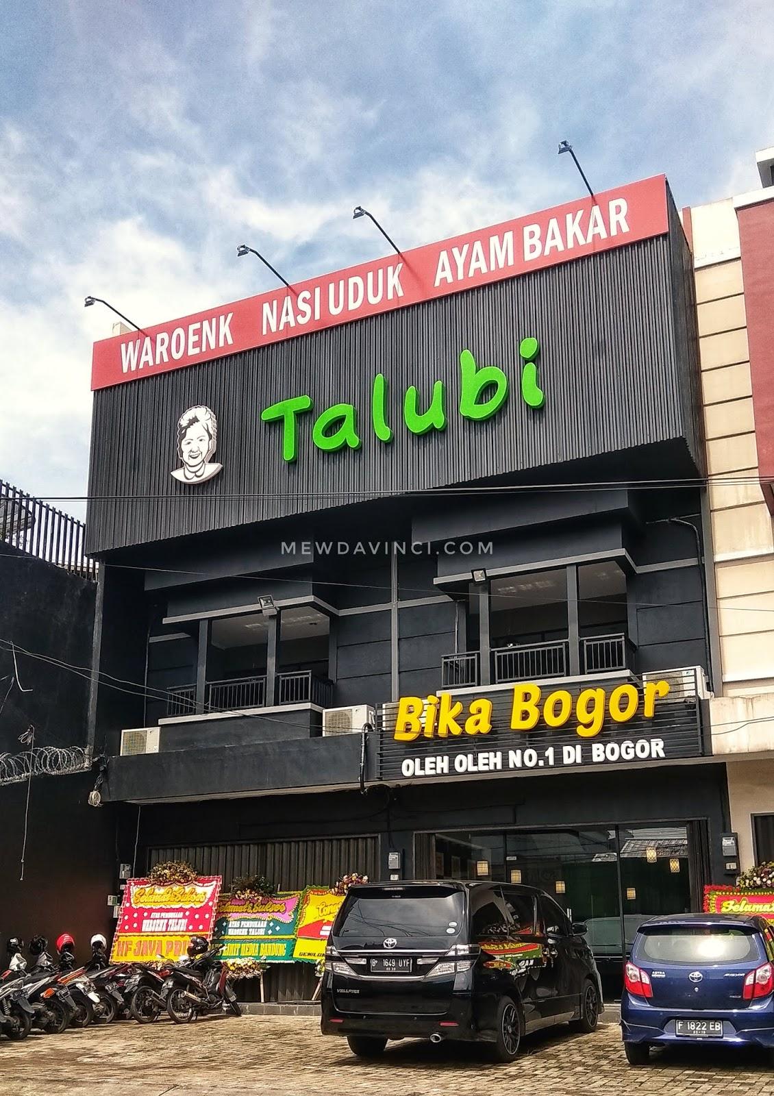 Rumah makan Waroenk Talubi Suryakencana Bogor