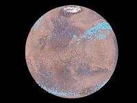 Gletser Mars Mengandung Banyak Air