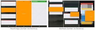 Desain UI baru di Sistem Operasi misterius Google Funchsia