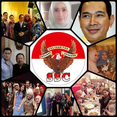 Biografi Profil Biodata Foto Firza Husein Ketua SSC - Solidaritas Sahabat Cendana