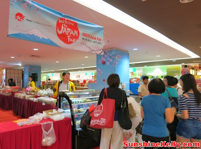Welcome to Japan Fair, Iwate Food Fair, AEON Bandar Utama, bandar utama, shopping mall, japan food fair,  mochi, kids bento, osechi, origami workshop