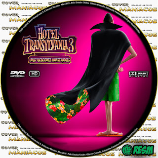 GALLETA -HOTEL TRANSYLVANIA 3: UNAS VACACIONES MONSTRUOSAS - Hotel Transylvania 3: Summer Vacation