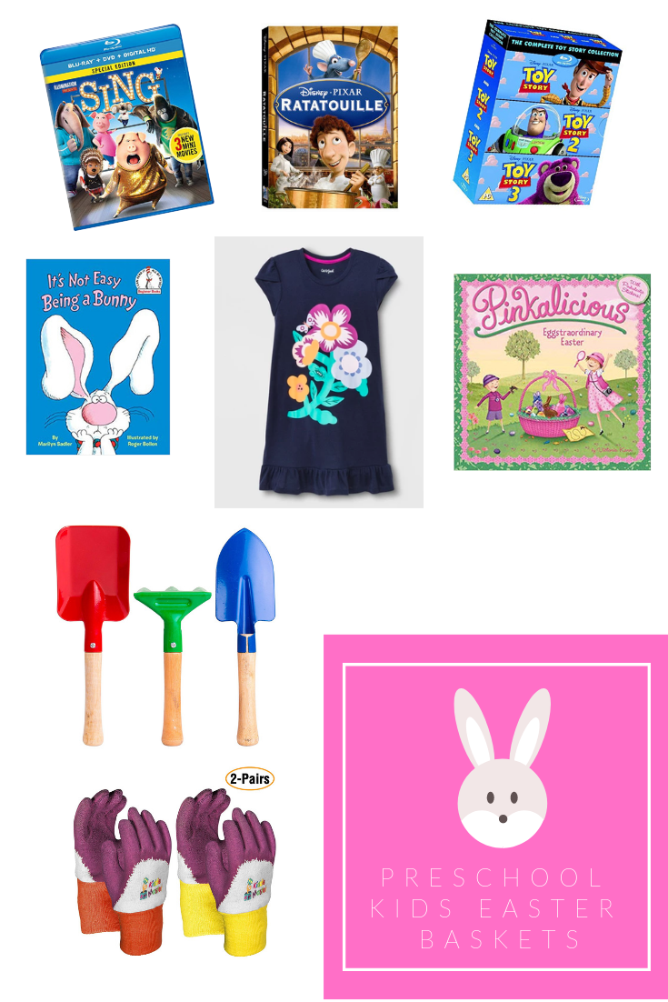 Preschool kids Easter Basket Ideas