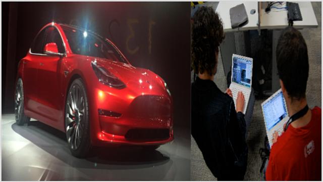 Hackers Group Ne Jeeta Tesla Car System Me Khaami Ka Pata Lagakar