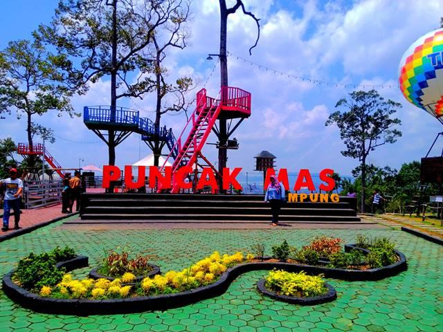Puncak Mas Tempat Wisata Kekinian Di Lampung Yang