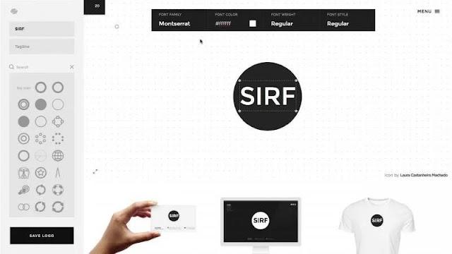 Squarespace Logo Maker: tạo logo nhanh chóng