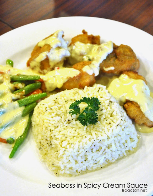 Seabass in Spicy Cream Sauce - RM15
