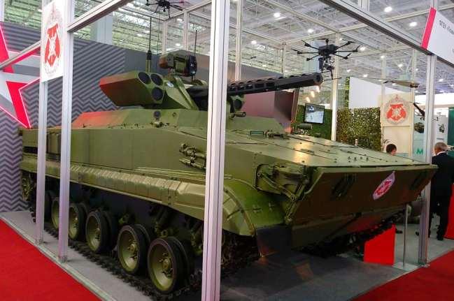 "Robot Pengintai ""Vikhr"" terbaru Rusia"