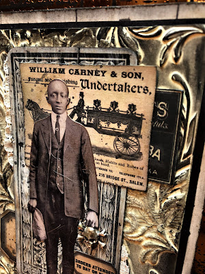Sara Emily Barker https://sarascloset1.blogspot.com/2018/10/the-undertaker-and-little-giveaway.html Halloween Card with Tim Holtz Giveaway 3