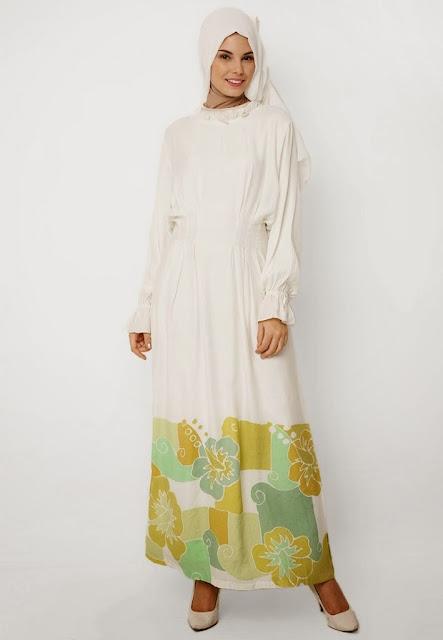 Dress Muslim Gamis untuk wanita ala dian pelangi