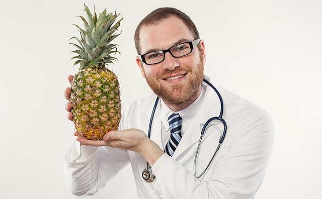 o consumo de abacaxi aumenta a bromelina que pode causar aborto