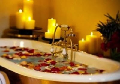 Baths to remove negative energies