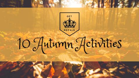 10 ROYALLY FUN Autumn Activities – Royals Lesson!