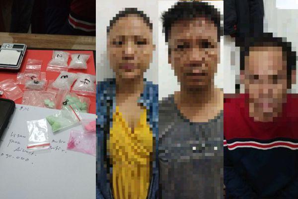 4 Orang Diduga Miliki Sabu-sabu dan Inek Diamankan Polisi Melawi