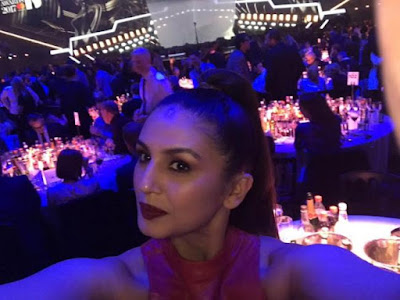 huma-qureshi-attends-brit-awards-2017